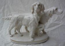 unbekannt: alte Porzellanfigur - Hunde - Hundefigur - Thüringen ? - GK52-1118