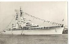 HNLMS De Ruyter (C801). BAP Almirante Grau (CLM-81). RP. Rare picture