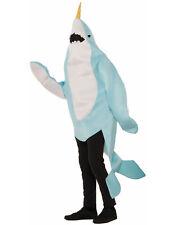Narwhal Whale Sea Creature Adult Mascot Halloween Costume-Std