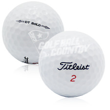 24 Titleist DT Solo Near Mint AAAA Used Golf Balls - FREE Shipping