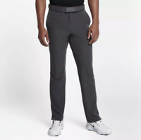 Men's Nike Flex Hybrid Standard Fit Golf Pants 921751-017 Gray LOWEST PRICE