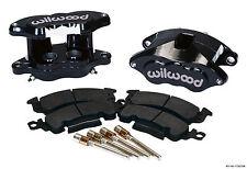 "WILWOOD BIG GM BRAKE CALIPER & PAD SET W/PINS,REAR,BLACK,1.28"" DISCS,D52"