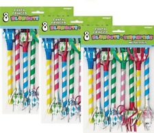 Party  Blowers Noisemakers Fringed Party Favor Blowouts Bag Filler 24 ct