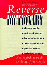 Reverse Dictionary (Readers Digest),Reader's Digest