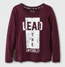 art class Girl's Purple Crew Neck Long Sleeve Graphic T-shirt Size XL 14/16