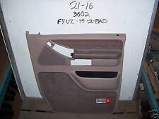 New OEM Door Trim Panel Ford Van 92-07 Tan Motorhome Right Power Conversion Van