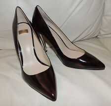New $178 Guess by Marciano Amy Leather Pump Chambord Color Size 8.5