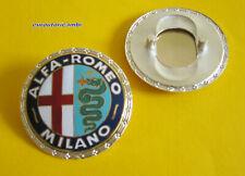 ALFA ROMEO MILANO 105 SERIES BADGE EMBLEM METAL ENAMELLED NEW