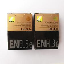 2x EN-EL3e Battery For Nikon D700 D300 D200 D100 D90 D80 D80S D70 D70S D50 Camer
