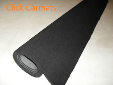 CAR CARPET SHEETS in Anthracite/Black Luxury Quality.
