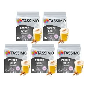 Tassimo Chai Latte Pack of 5 (Total of 40 Coffee Pods)