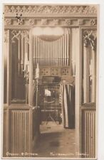 Kilkhampton Church Organ RP Postcard, B606