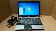 "HP EliteBook 2530P 12.1""  Core 2 Duo 2.13GHz 2GB RAM 120GB HD WINDOWS 7 PRO"