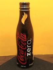 Coca Cola Zero 2010 Vancouver Winter Olympics Torch Relay Aluminum Bottle