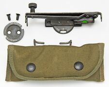 M1 GARAND OR GARAND SIDE SIGHT WITH CANVAS CASE.