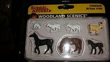 HO Scale Woodland Scenics Ho Scale Figurines Live Stock A1844
