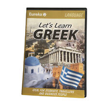 Eureka Let's Learn GREEK PC Windows/Mac 2007 Languages CD