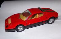 Burago 1/24 Scale Model Car 0133 - Ferrari 512 BB - Red Pre-owned