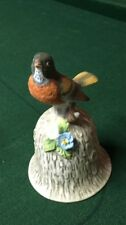Towle Fine Bone China Robin Vintage Bell