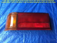 OEM 1987 1988 1990 1991 MITSUBISHI CYBORG COLT MIRAGE HATCHBACK LEFT TAIL LIGHT