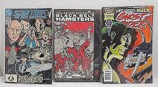 Assorted Comics- Dc And Marvel And Eclipse Comics- Lot Of 3- In Plastic Covers