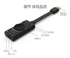 ORICO USB sound card desktop computer notebook external headphones speaker