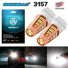 3157 4114 4157 LED DRL Driving Daytime Running Light Bulb Kit 6000K Bright White