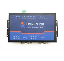 USRIOT USR-N520 Serial to Ethernet Server TCP IP Converter Double Serial Device