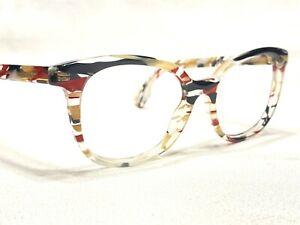 Burberry B2291 3792 Women's Black & Clear Rx Designer Eyeglasses Frames 53/17