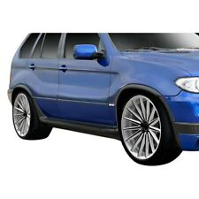 For BMW X5 00-06 Fender Flares Kit 4.8is Look Style Fiberglass Front & Rear