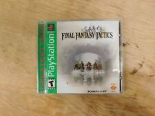 Final Fantasy Tactics -Ps1 ( Sony Playstation 1 ) Complete