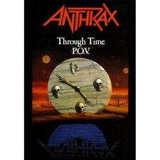 ANTHRAX - Through Time P.O.V. DVD NEW SEALED Metallica Slayer Megadeth DRI metal