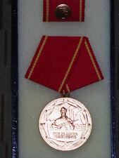 """DDR Medaille """"Für 25 Jahre Treue Dienste"""" MdI Kampfgruppe, Volkspolizei"""