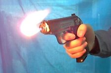 PPK Lighter toy gun 007 Bond movie Walther James cosplay prop natural flame