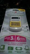 Rayovac Platinum Rechargeable PowerPack Mobile Portable Device Charger New!