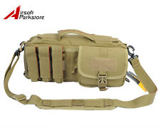 Tactical Military Outdoor Molle Cordura Assault Shoulder Bag Pouch Backpack Tan
