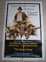 Vintage Movie Poster 1 sheet The Spikes Gang 1974 Lee Marvin, Gary Grimmes