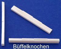 Knochen-Steg für Ukulele 61 mm, vollkompensiert, Typ BKU-18