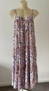 NEW Cartel & Willow Size XL (14) Women's Avril Midi Dress