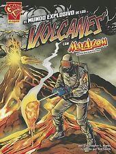 El Mundo Explosivo de los Volcanes Con Max Axiom, Supercientifico = Explosive Wo