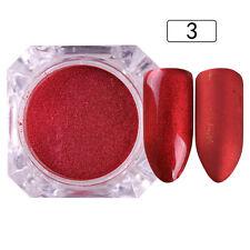 2g Pearl Powder Dust Nail Art Glitter Chinese Red Manicure Born Pretty #3