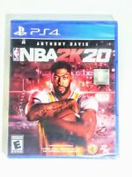NBA 2K20 PS4 (SONY PLAYSTATION 4, 2019) BRAND NEW! SEALED!