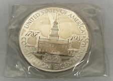 1787 - 1987 USA 12 oz Silver Constitution  Bicentennial 200 years (1 Pound Troy)