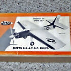 Jetco Kit Plans: Sabre Sonic X-4 Profile for .15 to .25
