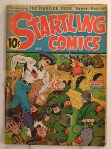 Nedor STARTLING COMICS #22 (1943) Fighting Yank, Gremlin, Captain Future, Oracle