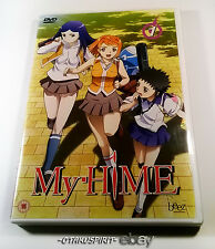 My Hime - DVD 1- Capítulos 1-4 + Extras - Beez - NUEVO!!