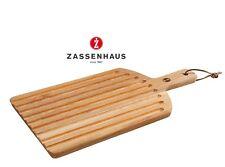 Zassenhaus Tabla para Cortar Pan con Bandejas de 46 X 26cm Roble Rojo, #057072
