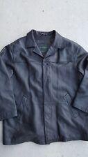 Men's DANIER Canada GENUINE SOFT LEATHER COAT Jacket Black sz 44-46