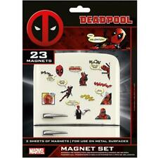 Deadpool Calamita Frigo Set Merchandising Ufficiale