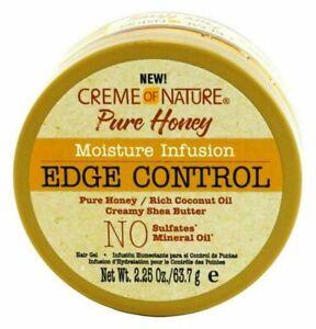 CREME OF NATURE: PURE HONEY MOISTURE INFUSION EDGE CONTROL 2.25OZ
